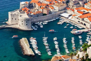 Dubrovnik, Croatia: panoramic view